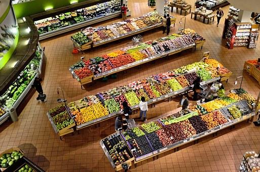 La comida del mercado: alimentos de otoño