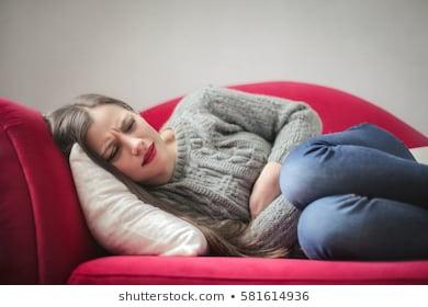 El síndrome pre-menstrual