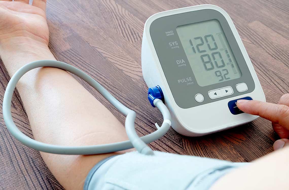 Bajar la tensión arterial en casa