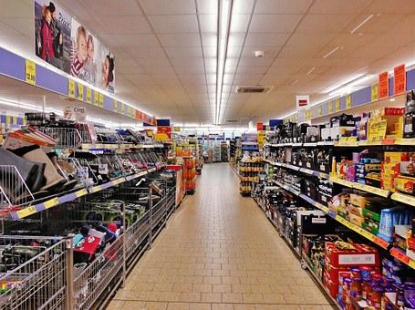 La comida de Supermercado